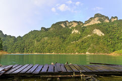 Mountains and river. Stock Photography