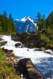 Mountains river Royalty Free Stock Photo
