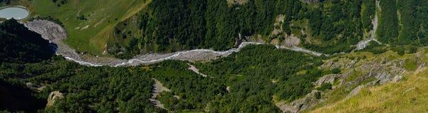 Mountains river Stock Photos