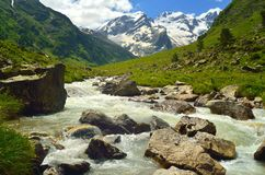 Mountains river Royalty Free Stock Photo