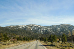 Mountains road Royalty Free Stock Images