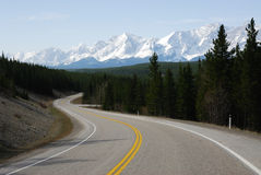 Mountains and road Royalty Free Stock Photos