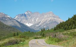 Mountains road Royalty Free Stock Image
