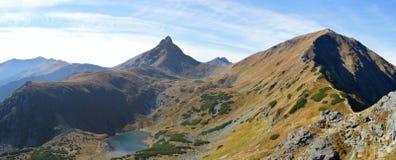 Mountains. Rock mountains and tarn in Slovakia Stock Photo