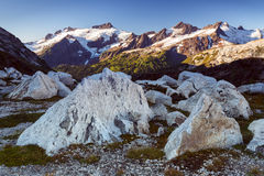 Mountains and Rocks Royalty Free Stock Photography