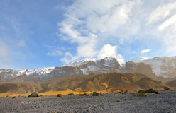 Mountains and rocks in Iceland Royalty Free Stock Images
