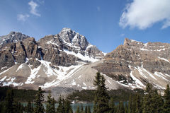 Mountains in the rocky mountains - West Canada Stock Photos