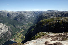 Mountains of Rogaland Royalty Free Stock Photography