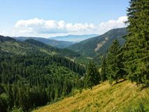 Mountains in Romania Stock Photography