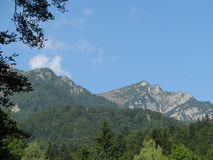 Mountains in Romania. Royalty Free Stock Photography