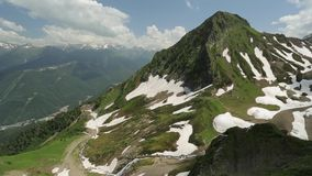 Mountains of Russia stock footage
