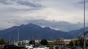 Mountains In Salt Lake City royalty free stock photography