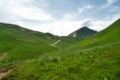The mountains of Sancy, Auvergne. Stock Photography