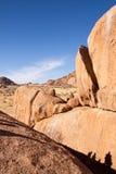 Mountains in Savannah of Namib Desert, Namibia Royalty Free Stock Photography