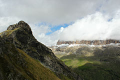 Mountains scenery - Dolomites - The Italian Alps Stock Photo