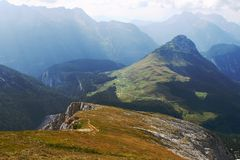 Mountains scenery in south Germany Stock Photography