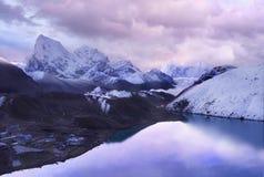Mountains Scenic Landscape Autumn Himalayas Stock Photography