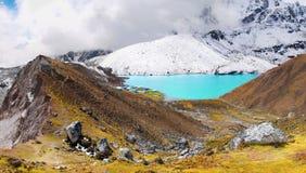 Mountains Scenic Landscape Autumn Himalayas Stock Photos
