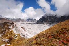 Mountains Scenic Landscape Autumn Himalayas Stock Photo