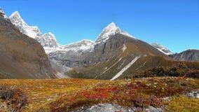 Mountains Scenic Landscape Autumn Himalayas Royalty Free Stock Photo