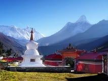 Mountains Scenic Landscape Autumn Himalayas Stock Image
