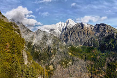 Mountains Scenic Landscape Royalty Free Stock Photos