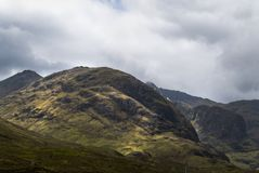 Mountains in Scotland Stock Image