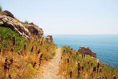 Mountains and the sea in Crimea. In summer Stock Images
