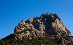 Crimean landscape. Mountains in the sea. Crimean landscape stock images
