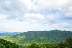 Mountains in Shenandoah National Park Royalty Free Stock Images