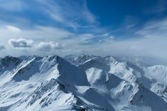 Mountains of  Siberia Royalty Free Stock Photo