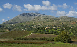The mountains of Sicily Royalty Free Stock Photos