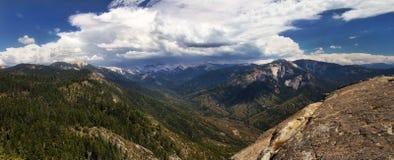 Mountains in the Sierra Nevada. Panorama shot of mountains in the Sierra Nevada Royalty Free Stock Photos