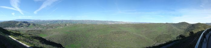 Mountains of Simi Valley, CA Royalty Free Stock Image