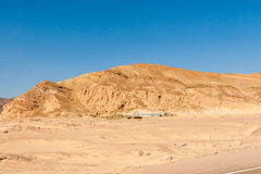 Mountains in the Sinai desert Royalty Free Stock Images