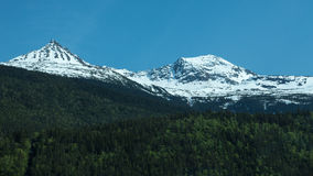 Mountains in Skagway Royalty Free Stock Image
