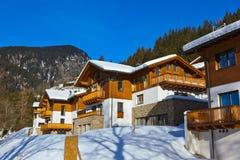 Mountains ski resort Bad Gastein Austria Stock Image