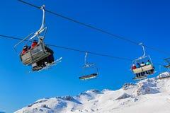Mountains ski resort Bad Gastein - Austria Stock Photography