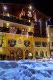 Mountains ski resort Bad Hofgastein Austria Royalty Free Stock Photos