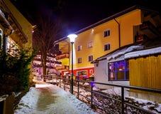 Mountains ski resort Bad Hofgastein Austria Royalty Free Stock Photo