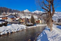 Mountains ski resort Bad Hofgastein - Austria Royalty Free Stock Photography