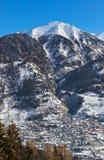 Mountains ski resort Bad Hofgastein - Austria Royalty Free Stock Images