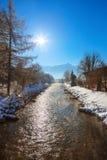 Mountains ski resort Bad Hofgastein - Austria Stock Photography
