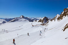 Mountains ski resort - Innsbruck Austria Royalty Free Stock Images