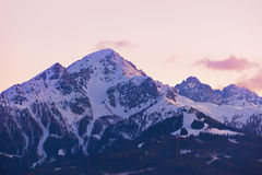 Mountains ski resort Innsbruck Austria Royalty Free Stock Photo