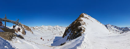 Mountains ski resort - Innsbruck Austria Stock Photography