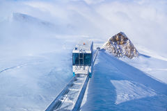 Mountains ski resort Kaprun Austria Royalty Free Stock Photography