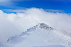 Mountains ski resort Kaprun Austria Stock Images