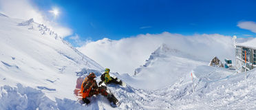 Free Mountains Ski Resort Kaprun Austria Stock Image - 47924161