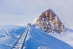 Mountains ski resort Kaprun Austria Stock Photography